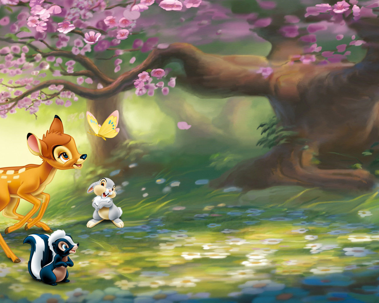 Cute cartoon animal wallpapers for desktop