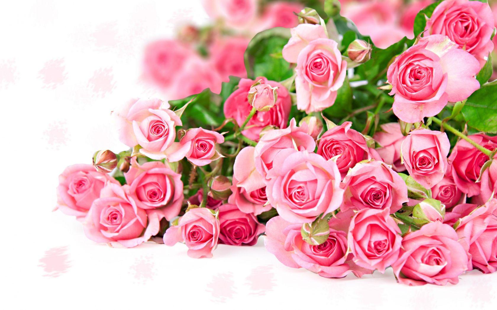Открытки с цветами для девушки 78
