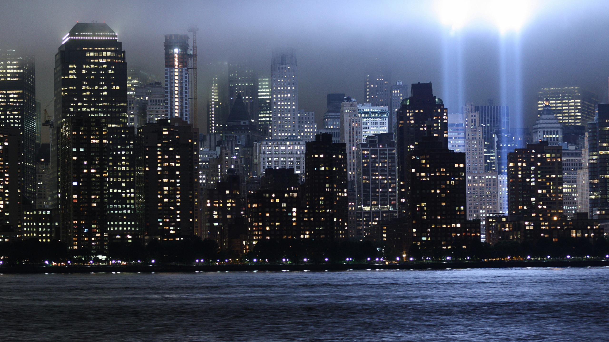 2560x1440 2560x1440 for Foto new york notte