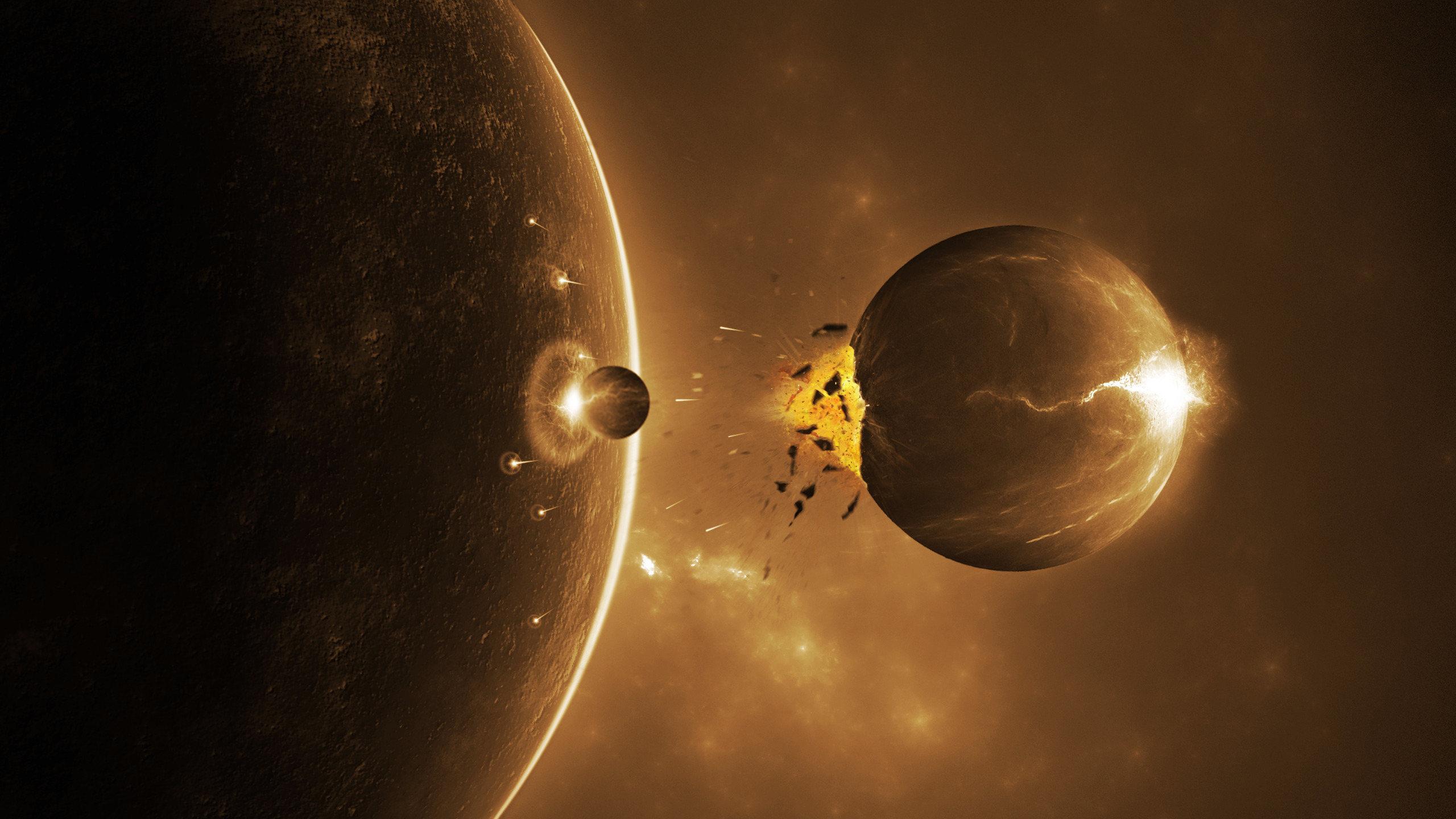 обои для рабочего стола космос метеориты № 610712 загрузить