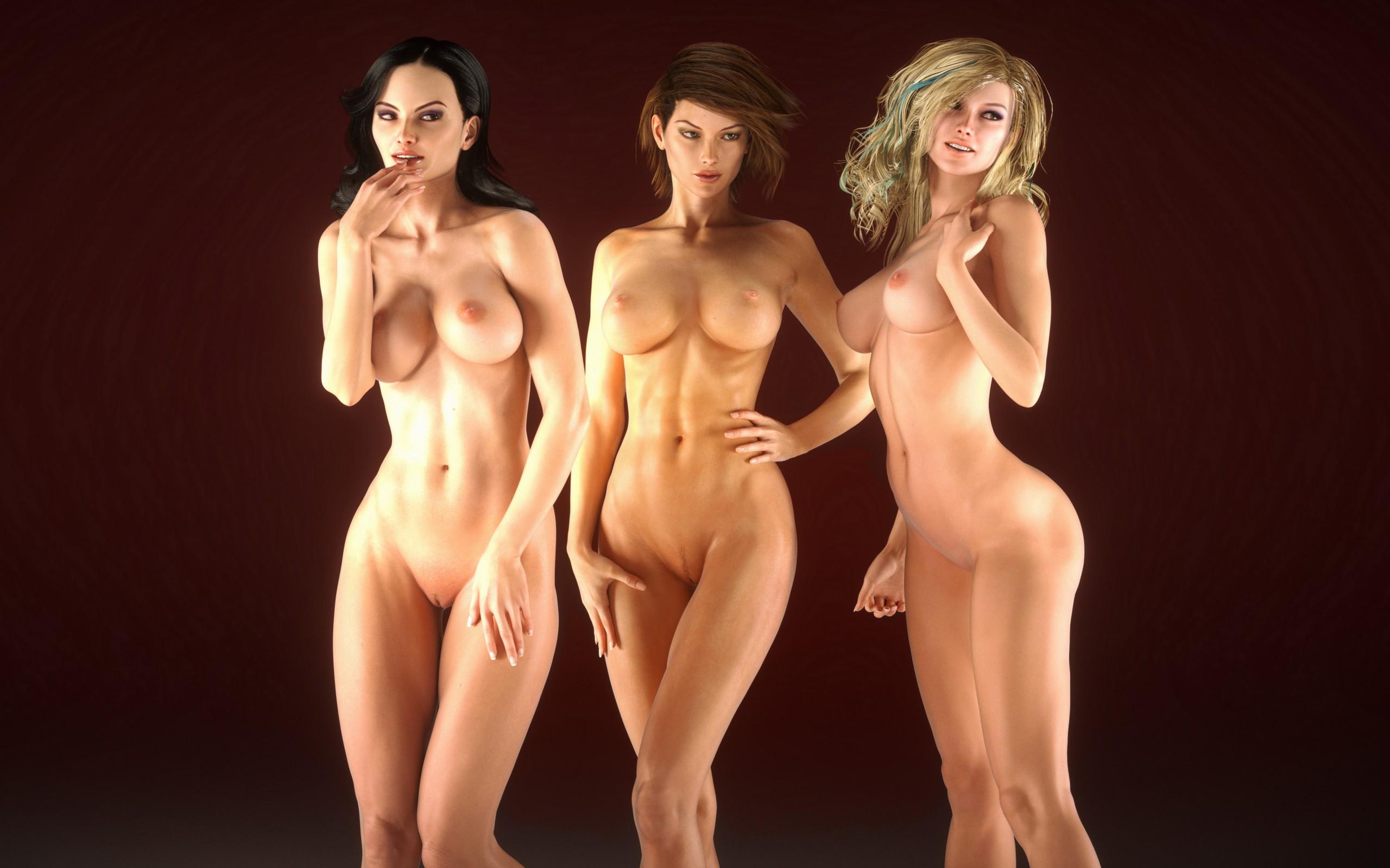 Эротика с тремя девушками моему
