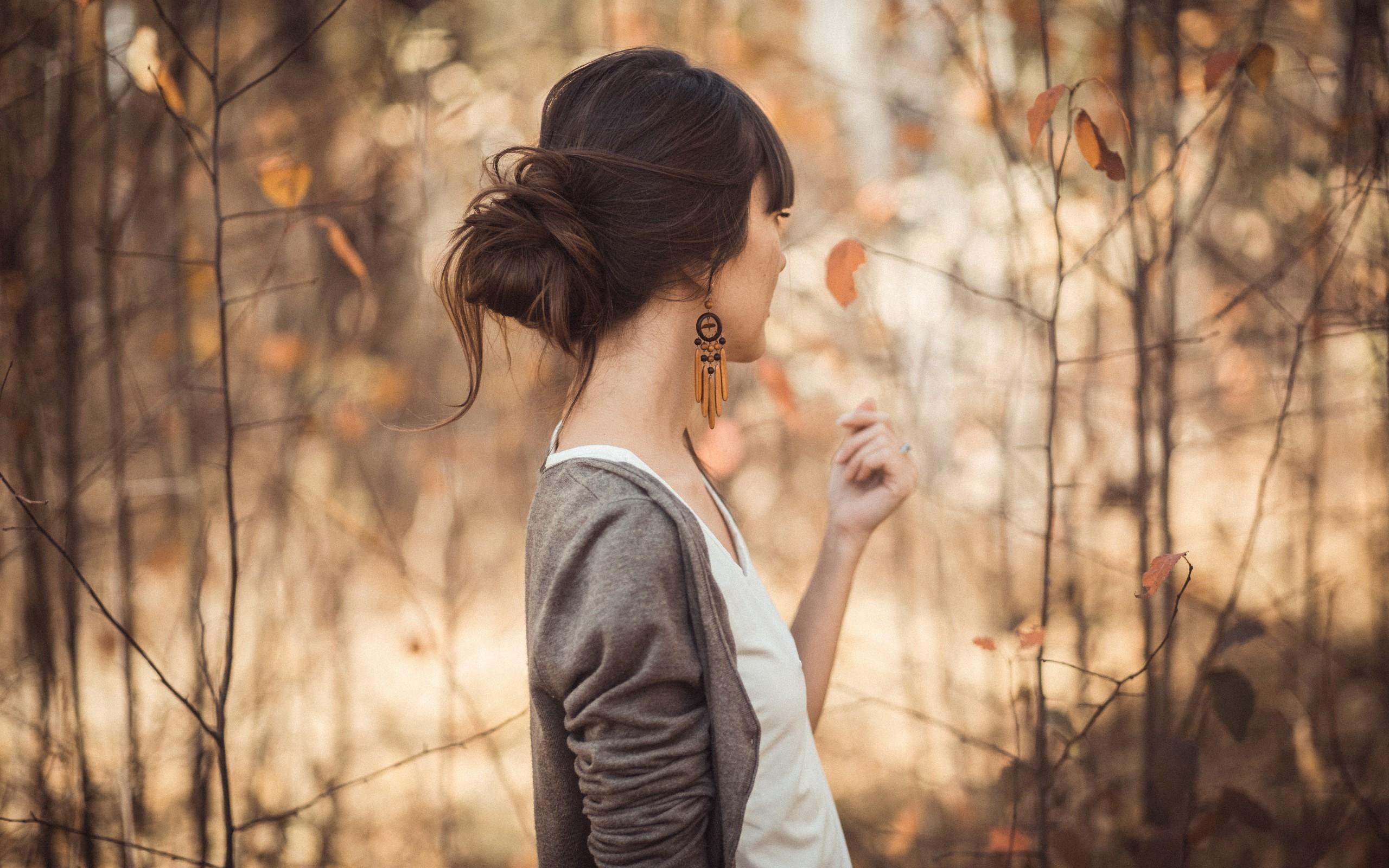 Фото девушек спиной на аву : брюнетки Красивые фото