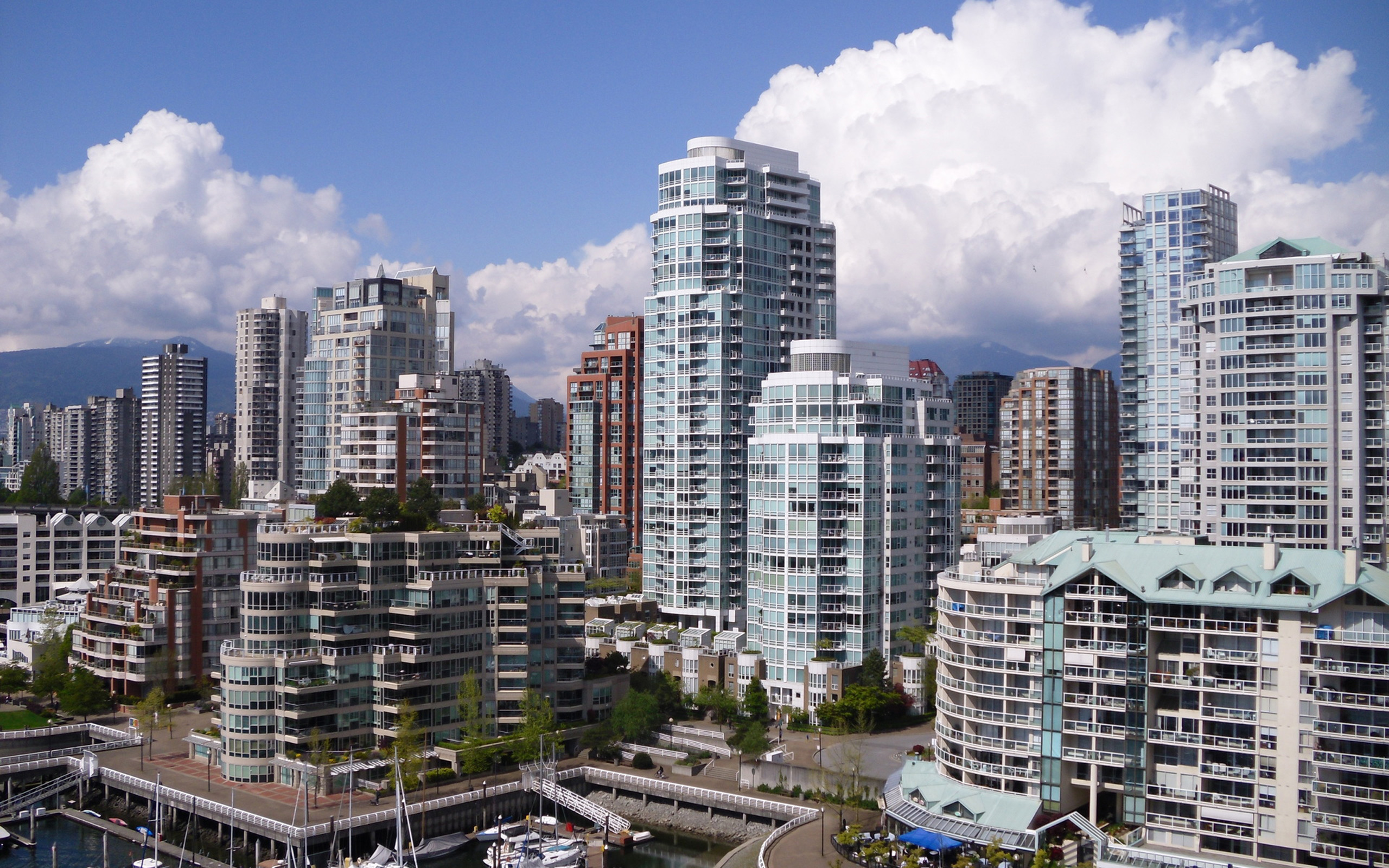 Обои небоскребы, высотки, здания. Города foto 13